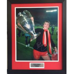 Kenny Dalglish Liverpool FC Signed Framed Photo Display