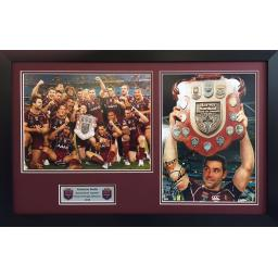 Cameron Smith Queensland Signed Framed Photo Display
