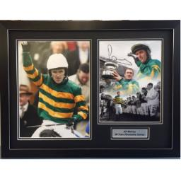 AP McCoy Signed Framed Photo Display