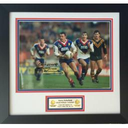 Garry Schofield Great Britain Signed Framed Photo Display