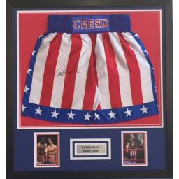 Carl  Weathers  'APOLLO CREED' Boxing Trunks
