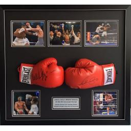 Anthony Joshua vs Wladimir Klitschko Signed Framed Display