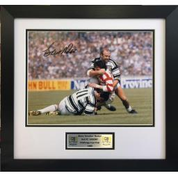 Steve Norton Hull Fc Signed Framed Photo Display