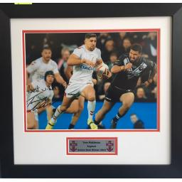 Tom Makinson England Signed Framed Photo Display