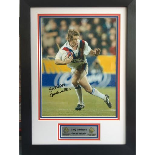 Gary Connolly GB Signed Framed Photo Display