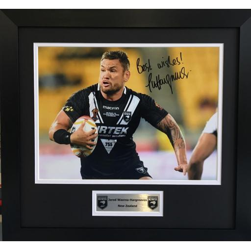 Jared Waerea-Hargreaves NZ Rugby league photo display